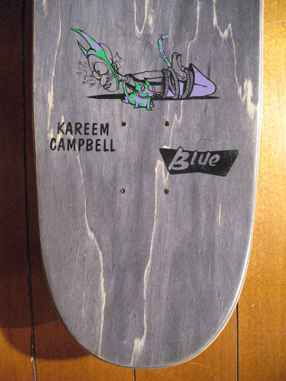 Kareem Campbell Blue 1991